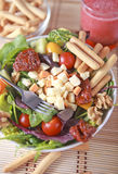 Clouse up Salad. Freshness and healthy close up salad Royalty Free Stock Photo