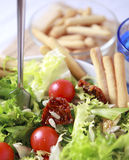 Clouse up Salad. Freshness and healthy close up salad Royalty Free Stock Photos