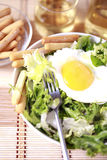 Clouse up Salad. Freshness and healthy close up salad royalty free stock images