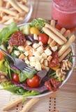 Clouse vers le haut de salade photo libre de droits