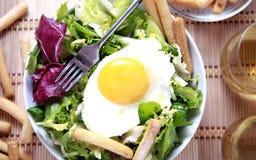Clouse vers le haut de salade Images stock