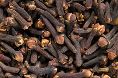 Clove. Background horizontal close up Royalty Free Stock Images