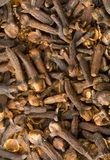 Clove. A close-up of a lot of clove (rose-apple Stock Image
