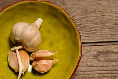Clove of garlic Stock Images