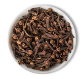 Clove in plate  Stock Photos