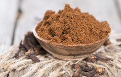 Clove Powder in a bowl Royalty Free Stock Photography