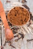 Clove Powder Stock Photo
