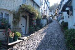 clovelly εξοχικά σπίτια στοκ εικόνα με δικαίωμα ελεύθερης χρήσης