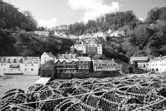 Clovelly Royalty Free Stock Photos