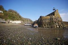 Clovelly, Cornwall, Großbritannien Lizenzfreies Stockfoto