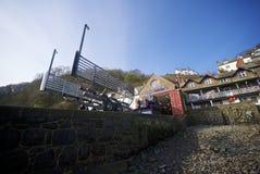 Clovelly Cornwall, UK Arkivfoto