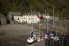 Clovelly, Cornwall, UK Royalty Free Stock Photo