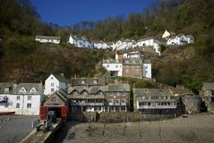 Clovelly, Cornwall, UK Stock Photography