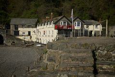 Clovelly, Cornwall, UK Royalty Free Stock Images