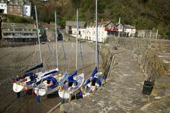 Clovelly, Cornwall, UK Stock Images