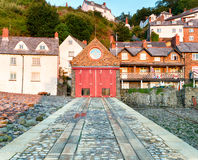 Clovelly in Devon Royalty Free Stock Photo