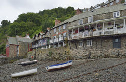 Clovelly Harbour Stock Photo
