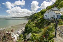 Clovelly Harbour stock photography