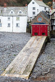 Clovelly Lifeboat Station Stock Images