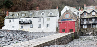 Clovelly Lifeboat Station Stock Photos