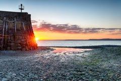 Clovelly Sunrise Royalty Free Stock Image