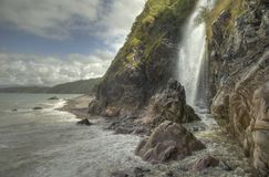 Clovelly Wasserfall GB Stockfotos