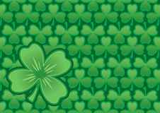Clover. Ornament ready to use like a  background Royalty Free Stock Photography