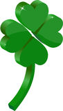Clover 3D. On a white background Royalty Free Stock Photography
