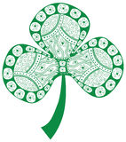 Clover design element Stock Photography