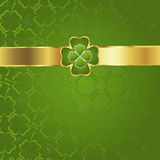 Clover background Stock Images