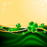 Clover background Stock Photo