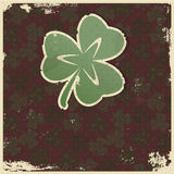 Clover background Royalty Free Stock Photography