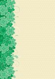 Clover background royalty free illustration