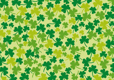 Clover background. A background for Saint Patrick's day Stock Photography