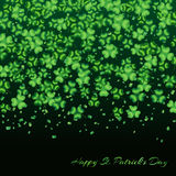 Clover background green Royalty Free Stock Photography