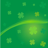 Clover background  St.Patrick day Stock Photos