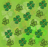 Clover background. vector Stock Image