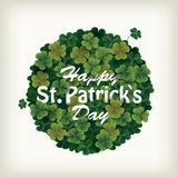 Clover ball for celebrating St. patrick`s day Royalty Free Stock Photography