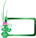 Clover Banner Stock Photography