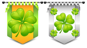 Clover coats Royalty Free Stock Images