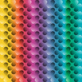 Clover colorful abstract background, Royalty Free Stock Photography