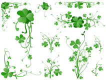 Clover design elements Stock Photo