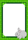 Clover  Frame Royalty Free Stock Image
