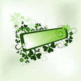 Clover frame Royalty Free Stock Photos