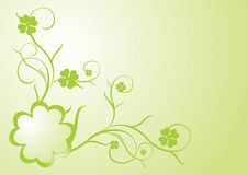 Free Clover Frame Stock Photography - 4493122