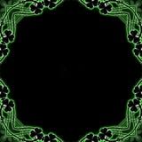 Clover Frame Stock Image