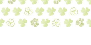 Clover geometric textile textured horizontal Royalty Free Stock Photos
