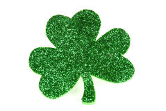 Clover of Glitter Royalty Free Stock Photo