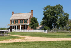 Clover Hill Tavern at Appomattox National Park Royalty Free Stock Images