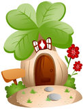 Clover House Royalty Free Stock Photo